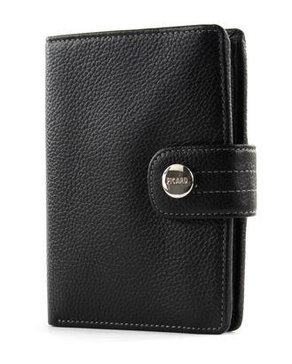 PICARD Melbourne Trifold Wallet Black