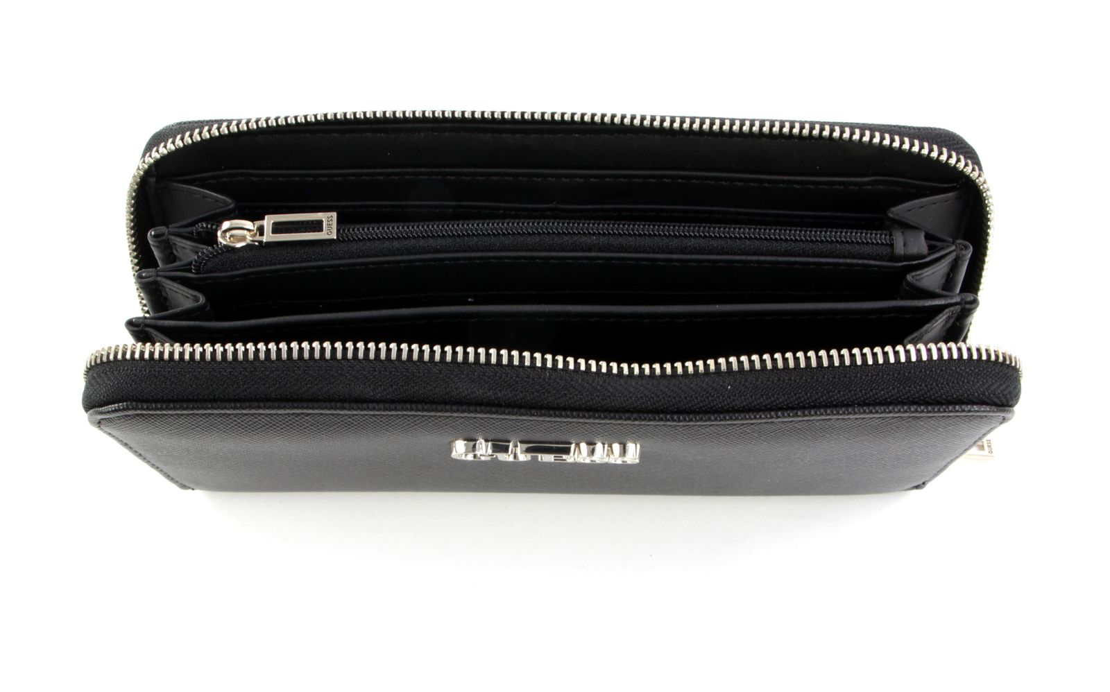 Guess South Bay SLG Large Zip Around Black
