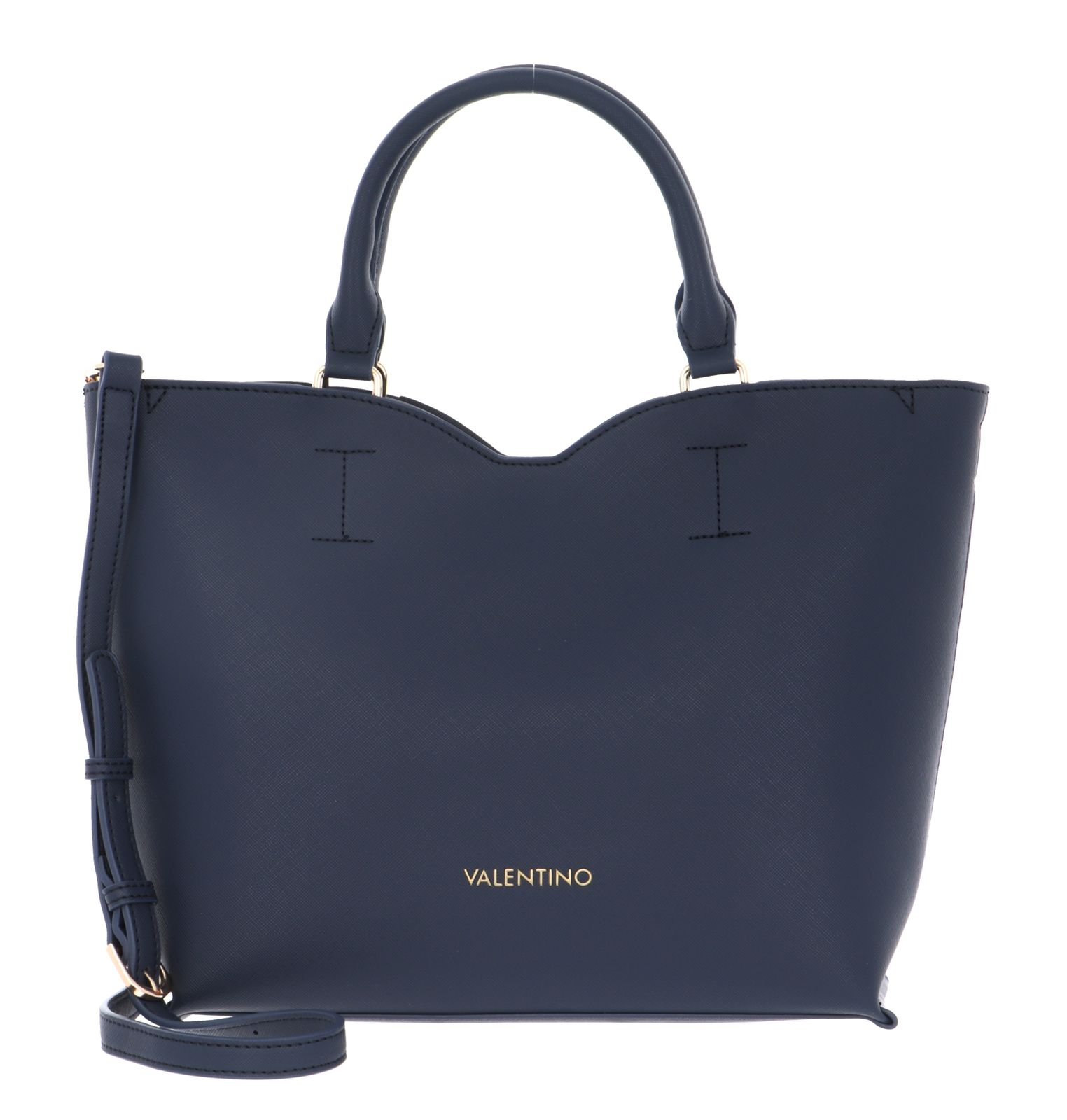 VALENTINO BAGS Page Shopping Bag Navy   Buy bags, purses ...