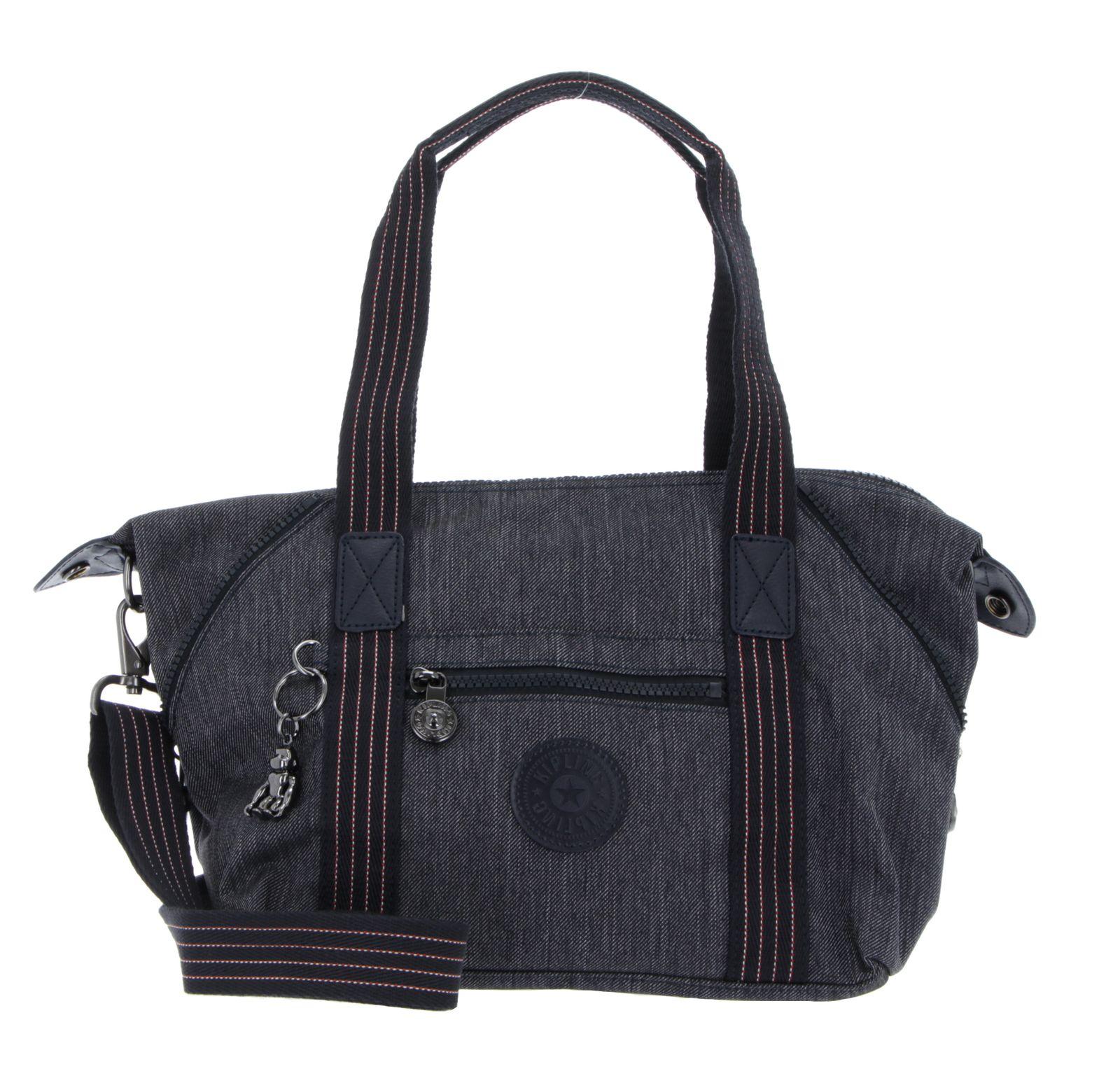 kipling Peppery Art Mini Handbag Active Denim