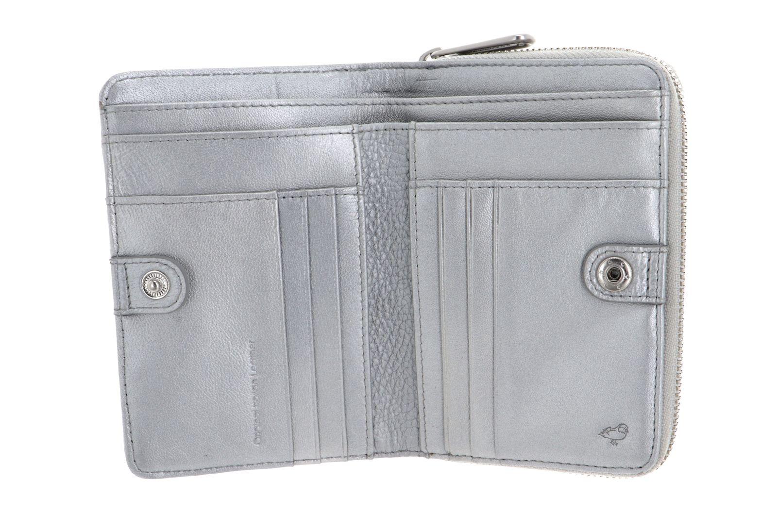 MANDARINA DUCK Mellow Lux Zip Around Wallet Snow