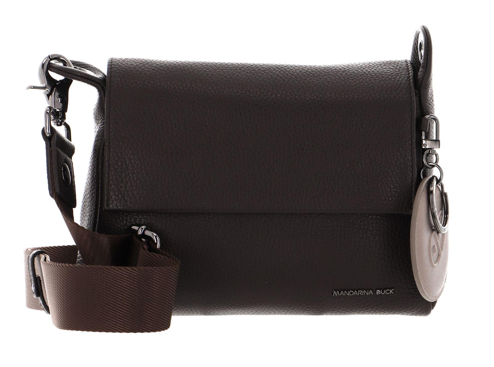 MANDARINA DUCK Mellow Leather Crossover Bag S Mole