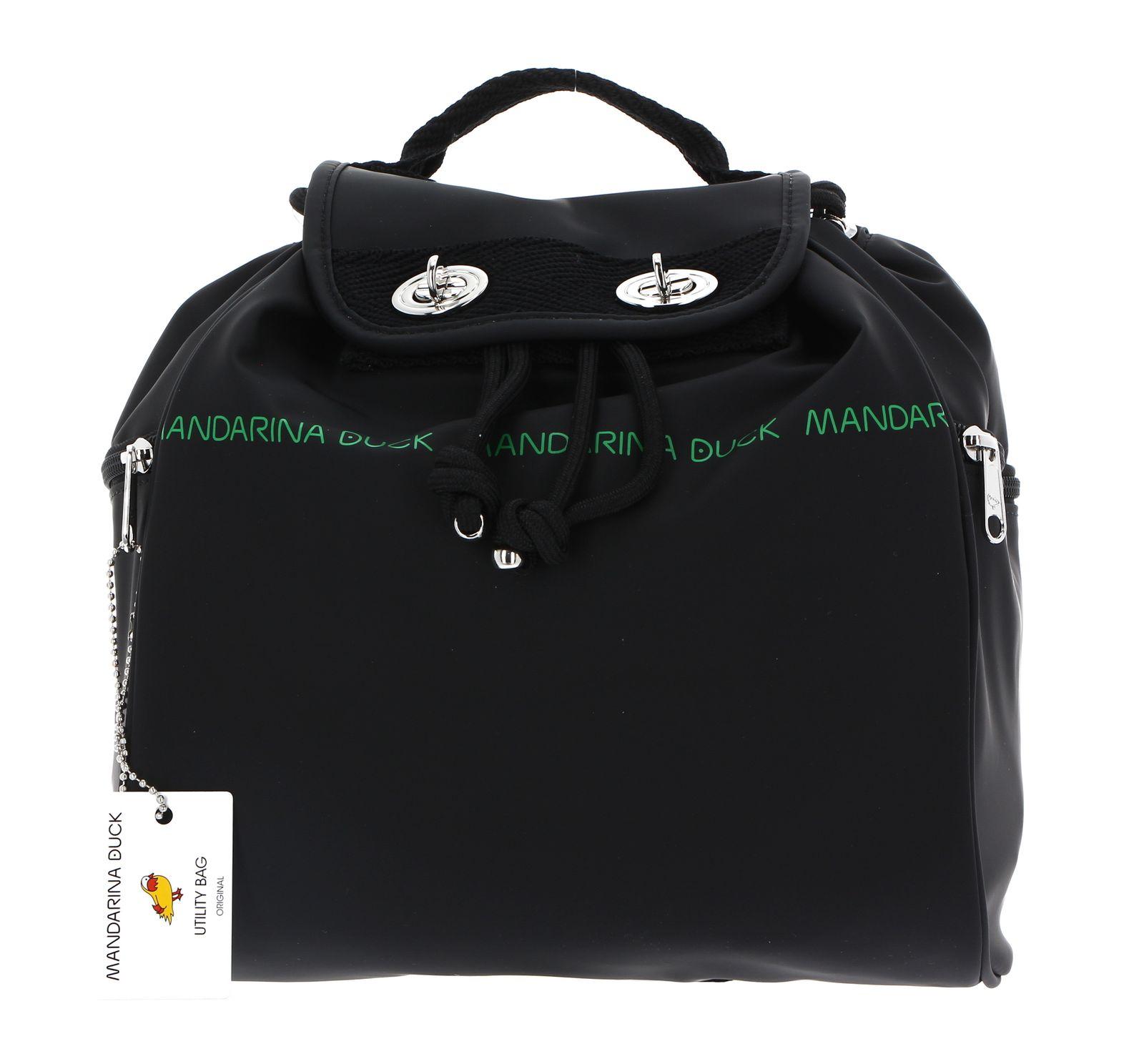 MANDARINA DUCK Utility Backpack Black