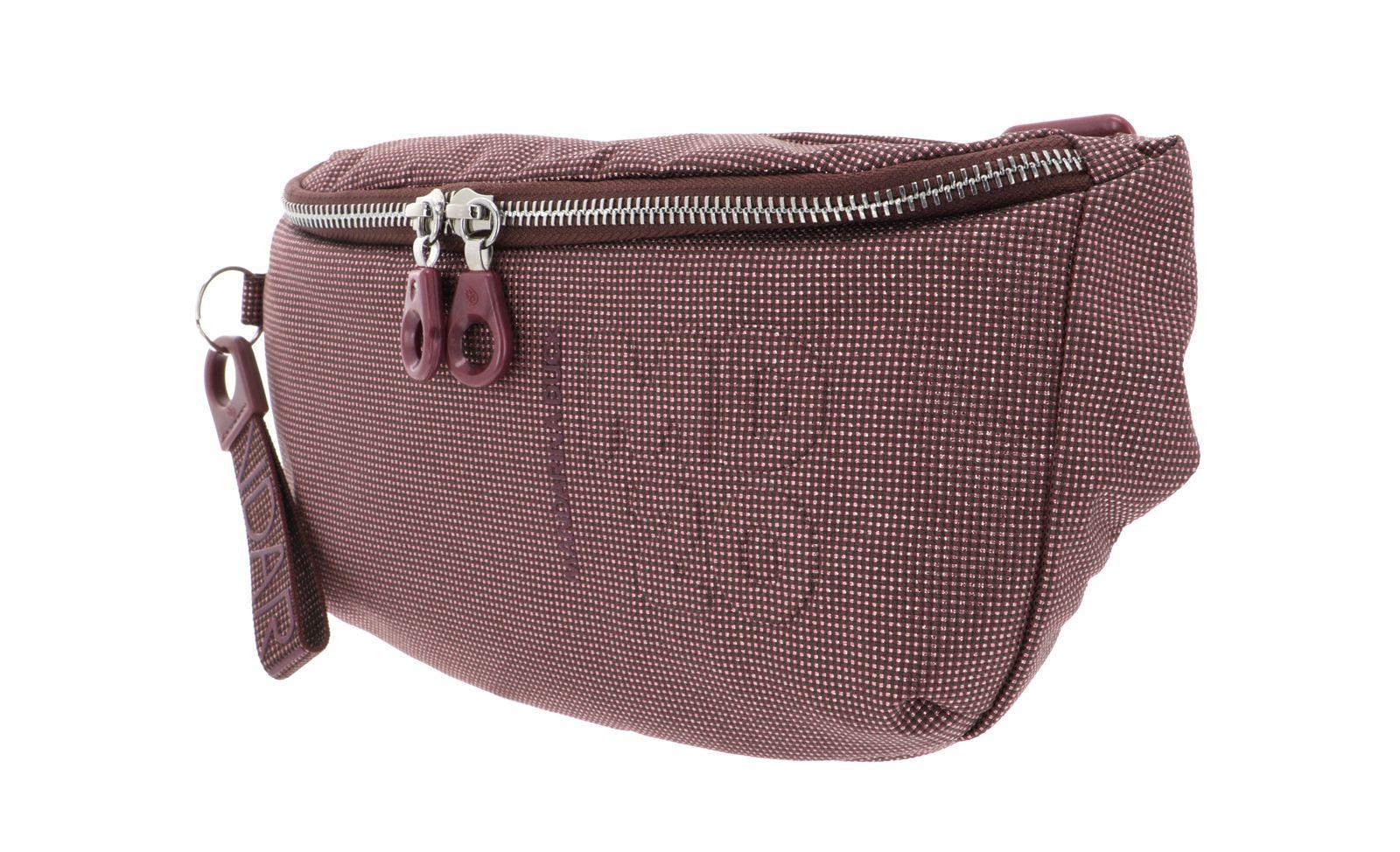 MANDARINA DUCK MD20 Lux Bum Bag Mahogany Pink