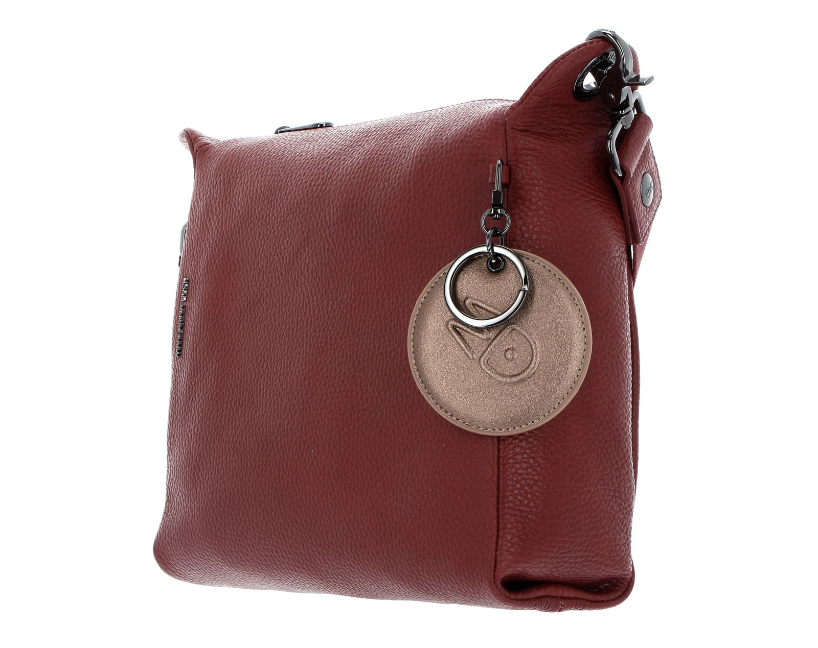 MANDARINA DUCK Mellow Leather Crossover Bag M Mahogany
