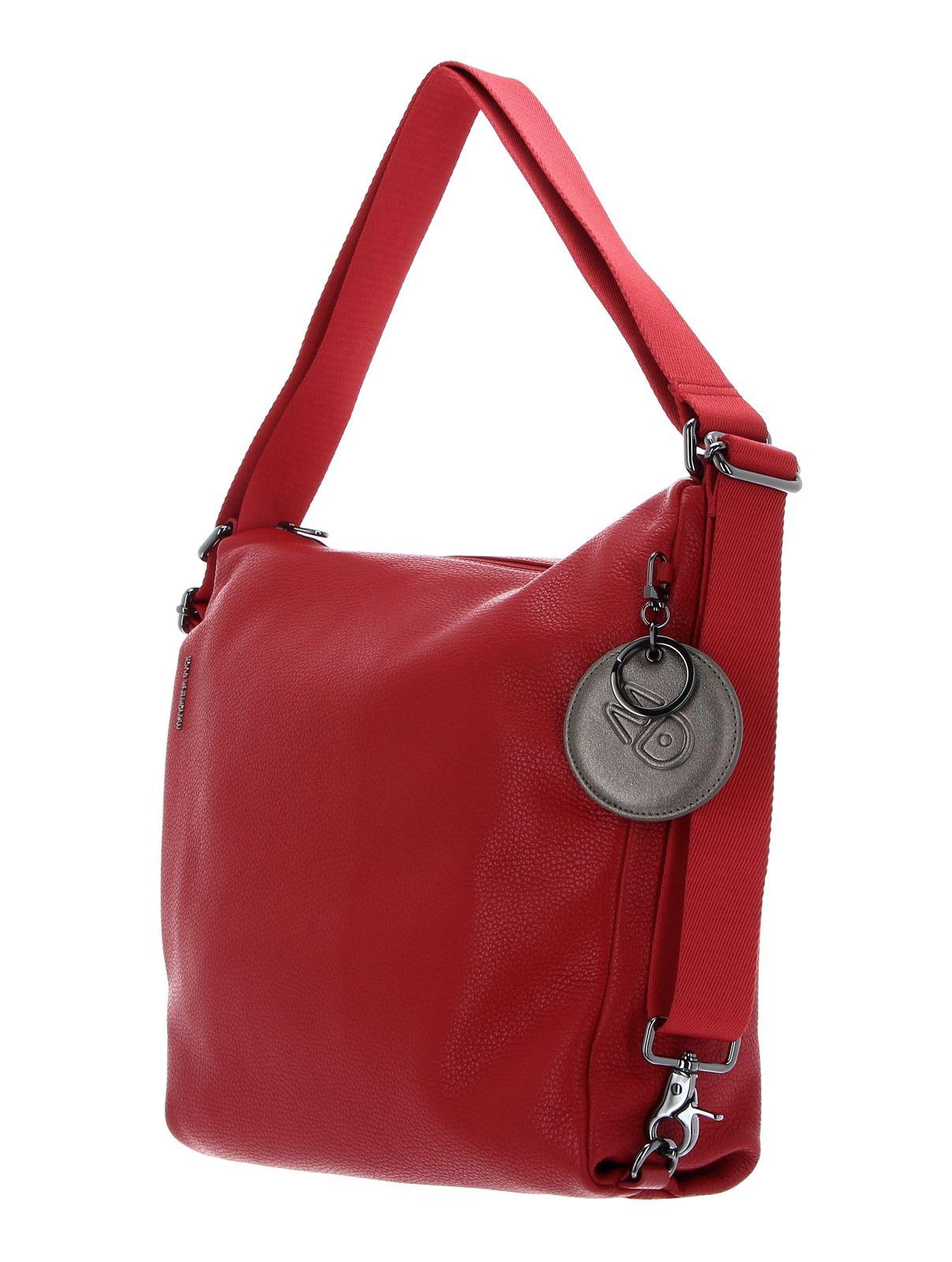 MANDARINA DUCK Mellow Leather Shoulderbag Flame Scarlet