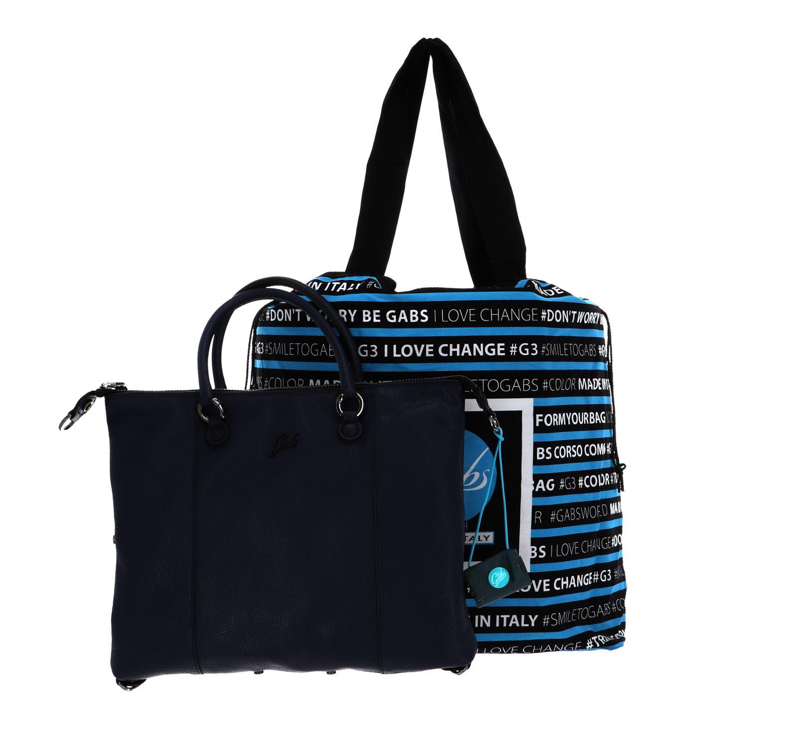 Gabs G3 Plus Flat Bag M Inchiostro Blu