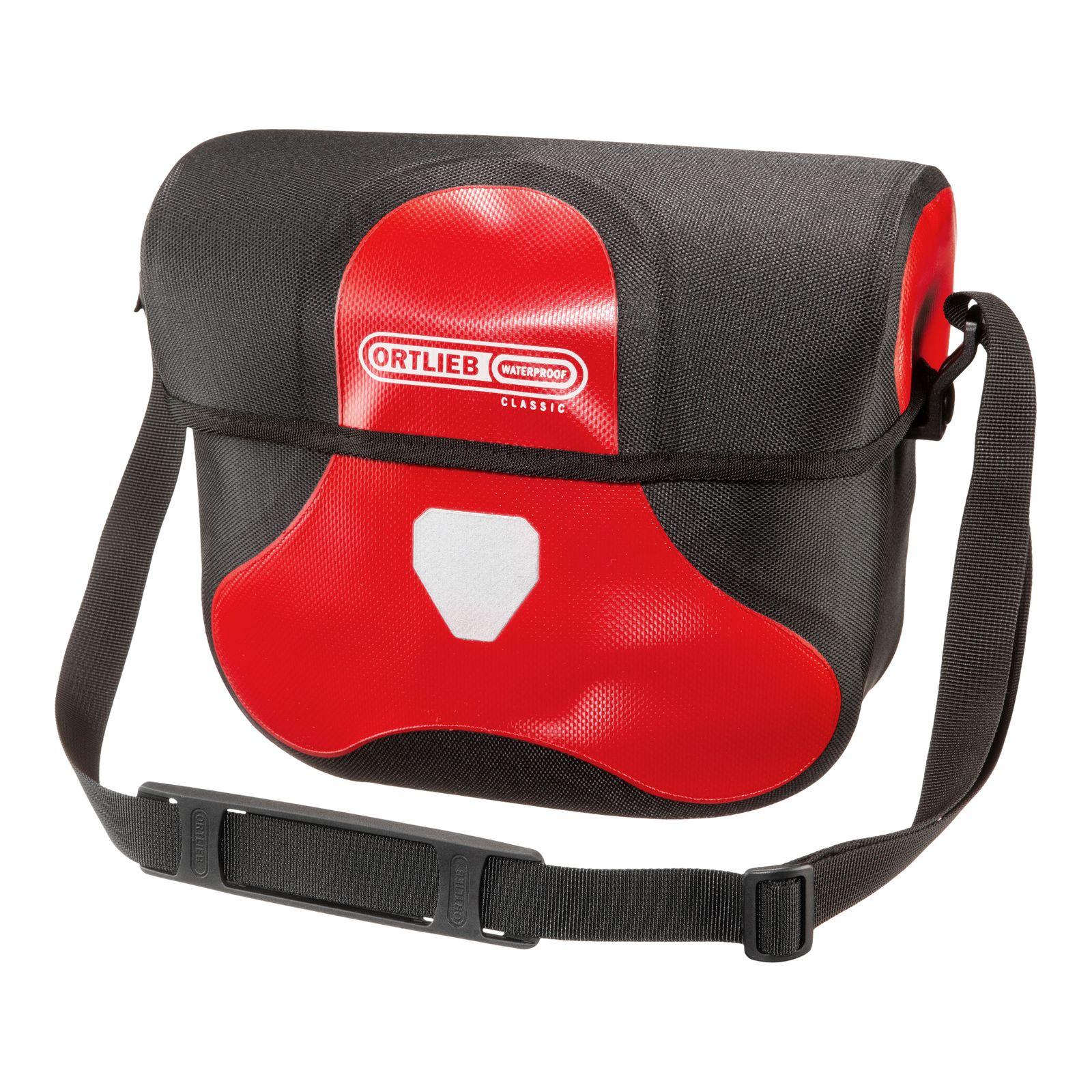 ORTLIEB Classic Ultimate Six Bike Handlebar Bag 7L Red-Black