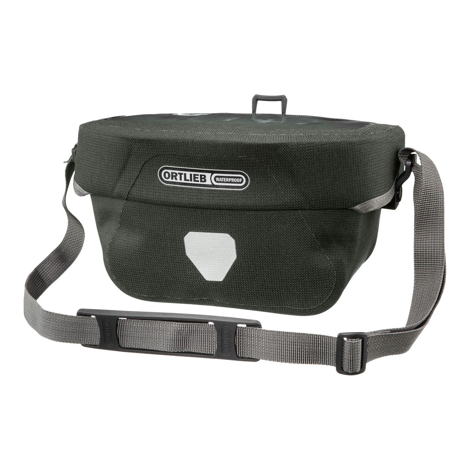 ORTLIEB Urban Ultimate Six Handlebar Bag 5L Pine
