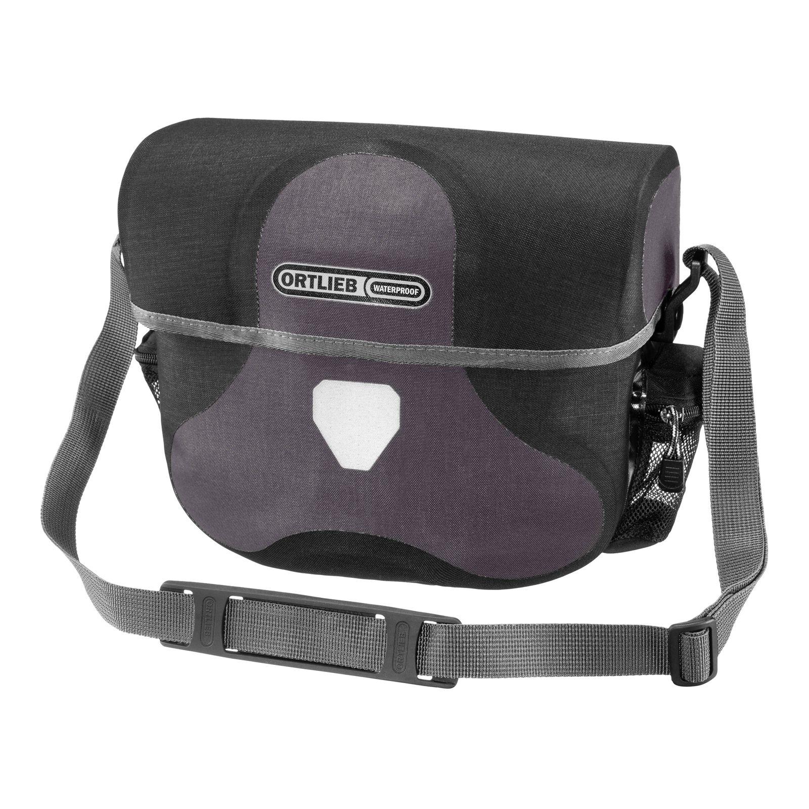 ORTLIEB Plus Ultimate Six Bike Handlebar Bag 7L Granite-Black