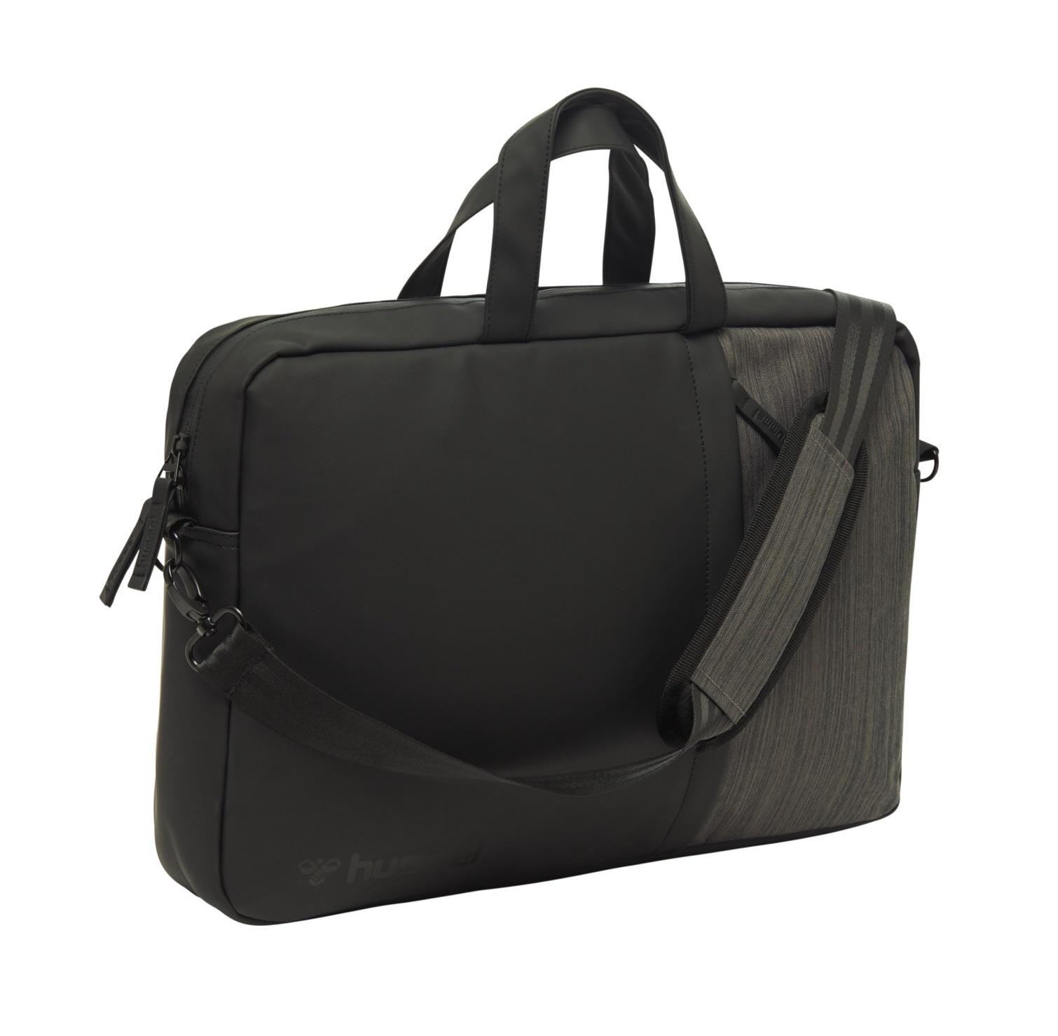 hummel Lifestyle Laptop Shoulder Bag Black