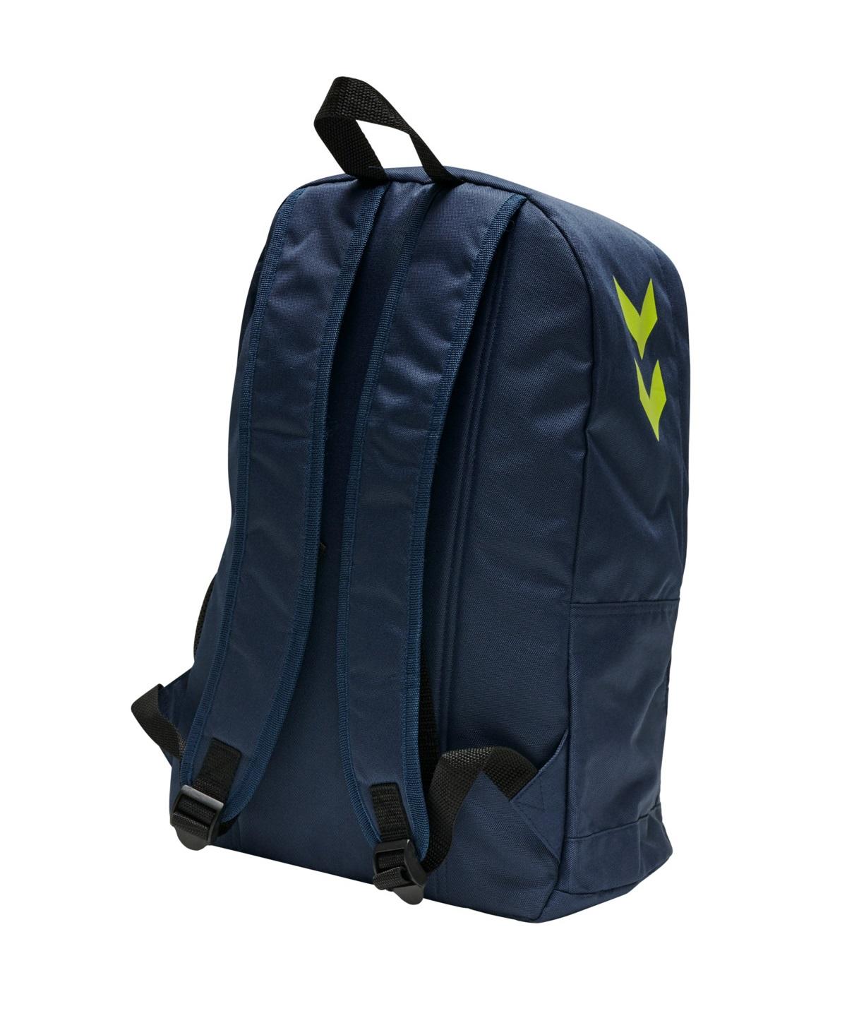 hummel Core Backpack Dark Denim / Lime Punch