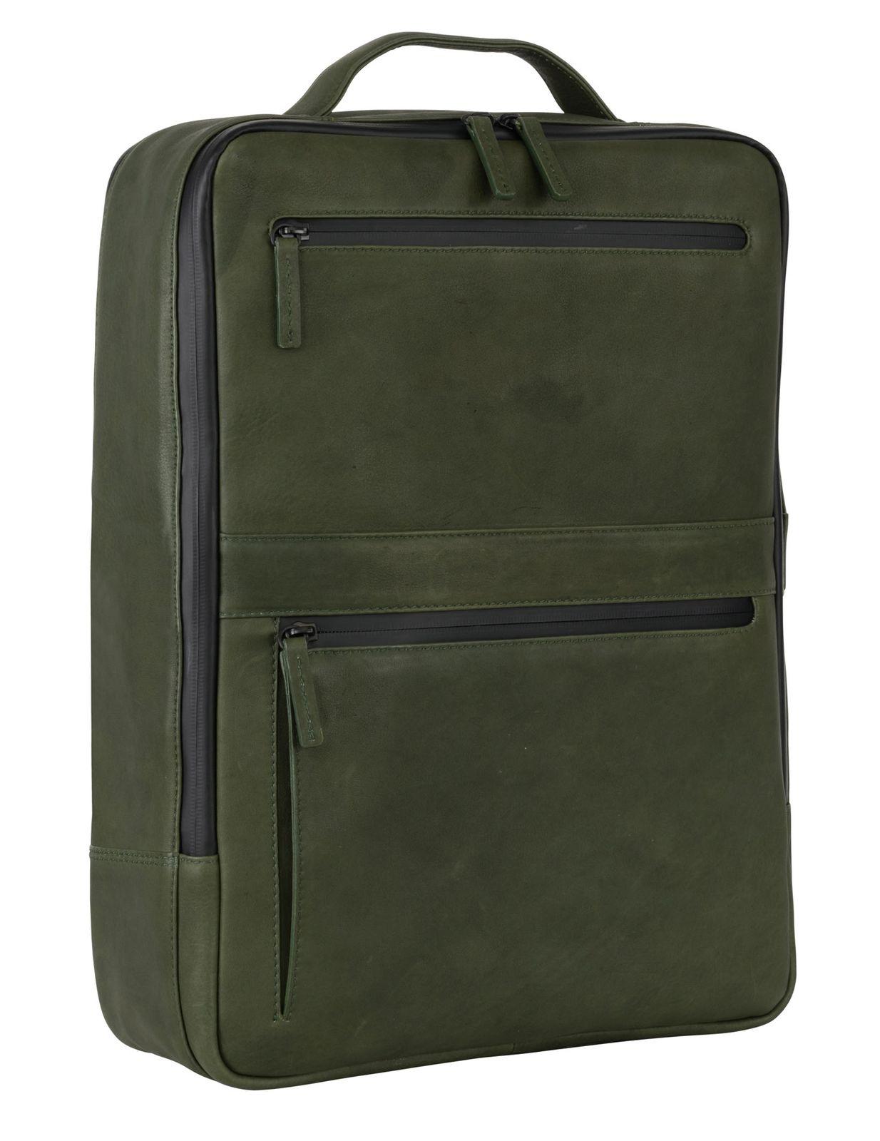 LEONHARD HEYDEN Den Haag Backpack Olive