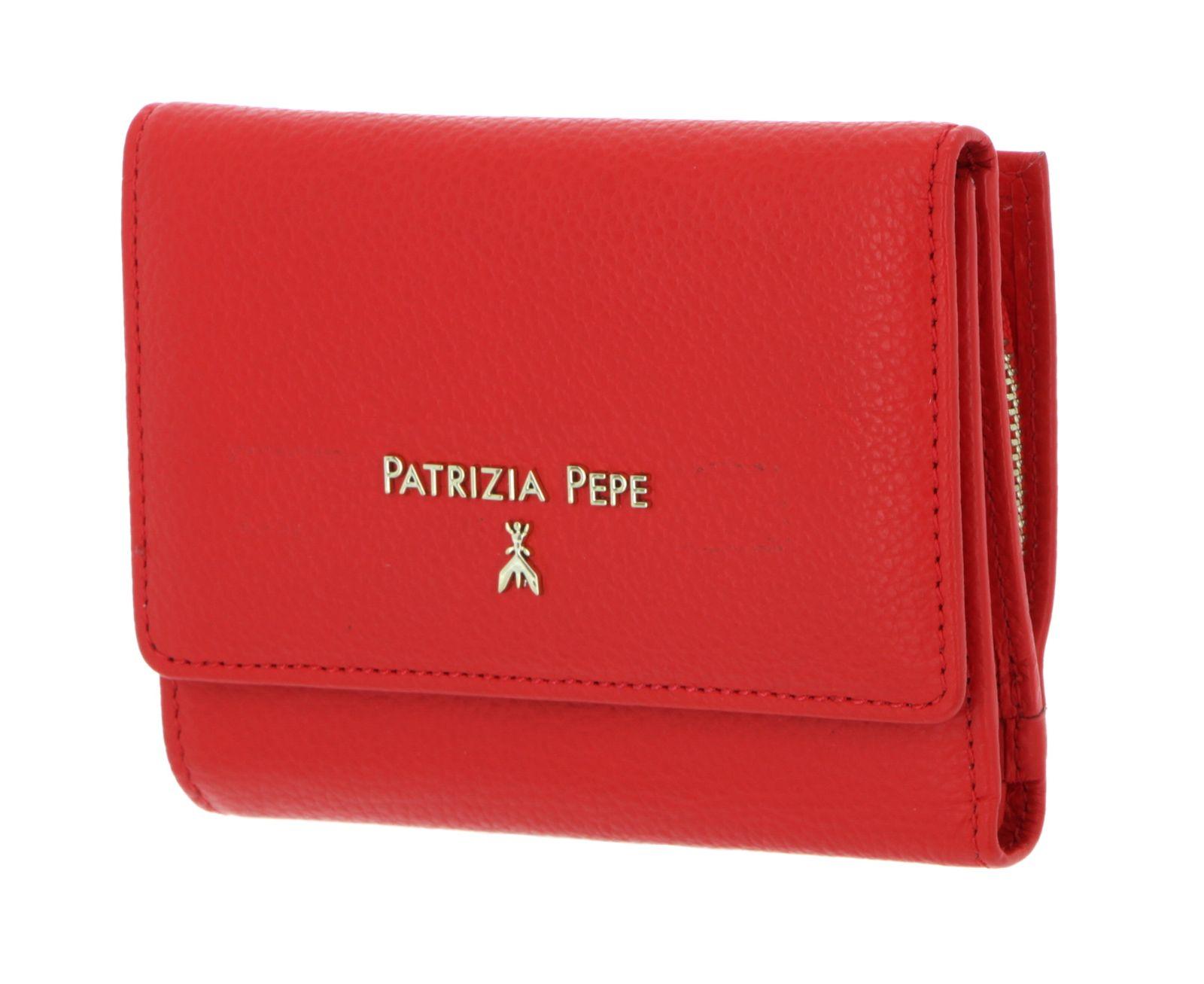 PATRIZIA PEPE City Wallet Lipstick Red