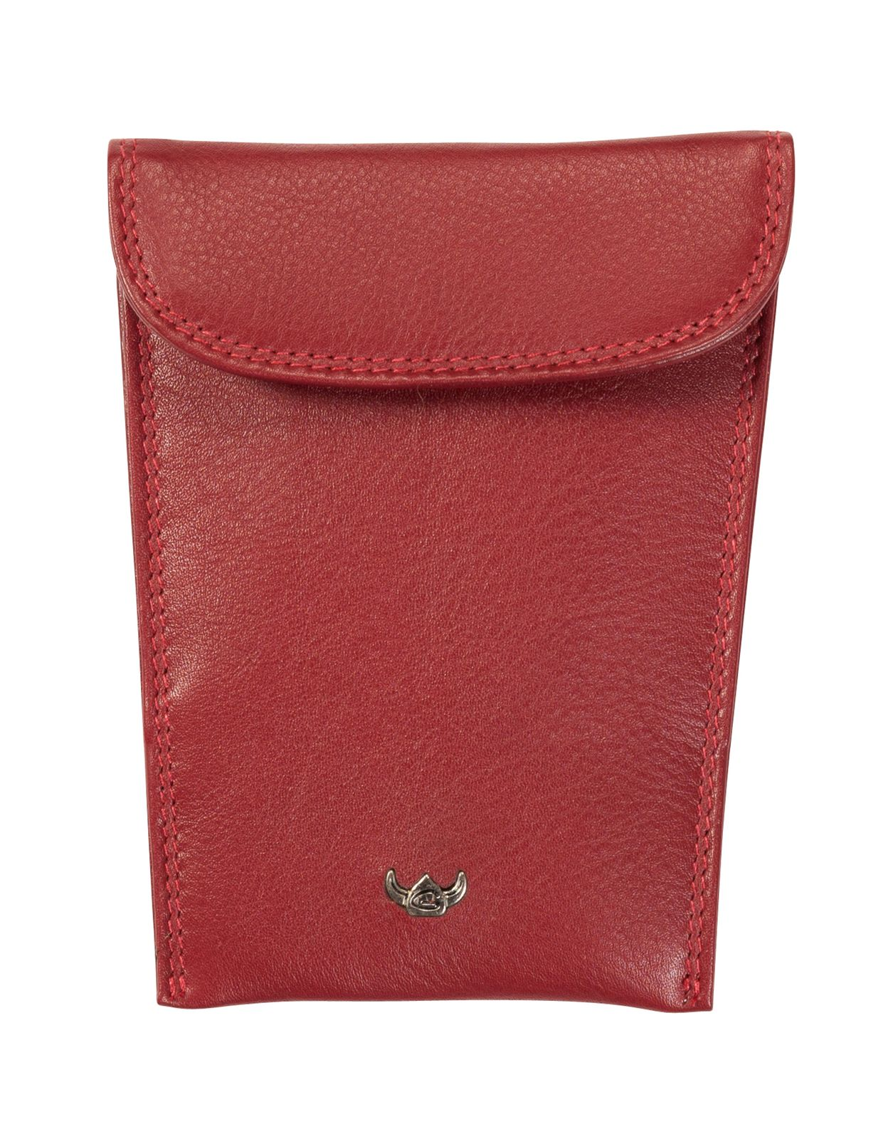 Golden Head Polo RFID Protect Key Case Red