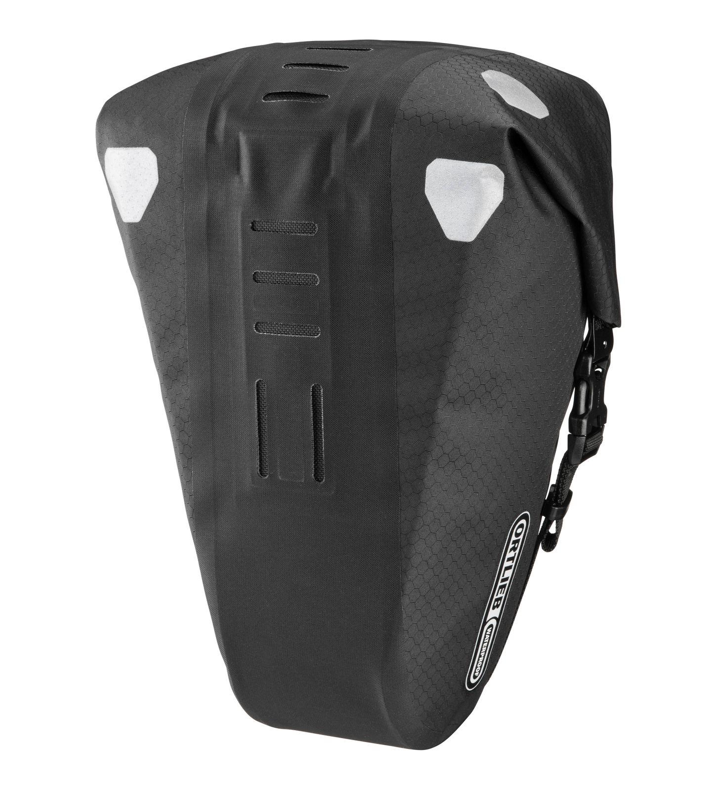 ORTLIEB Sport Cycling Saddle-Bag Two Bike Saddle Bag 4,1L Black Matt