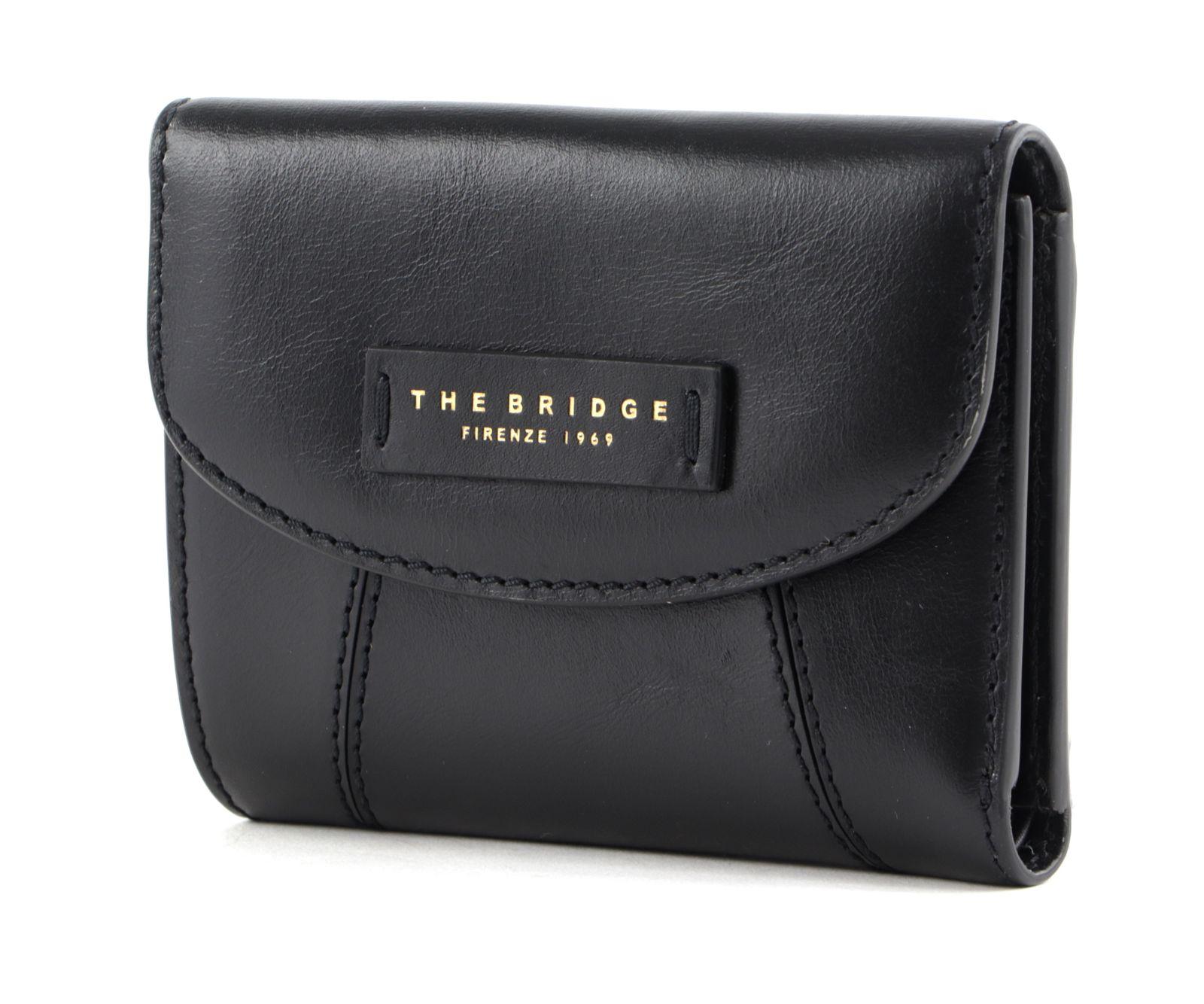 THE BRIDGE Camilla Ladie's Wallet Nero / Oro