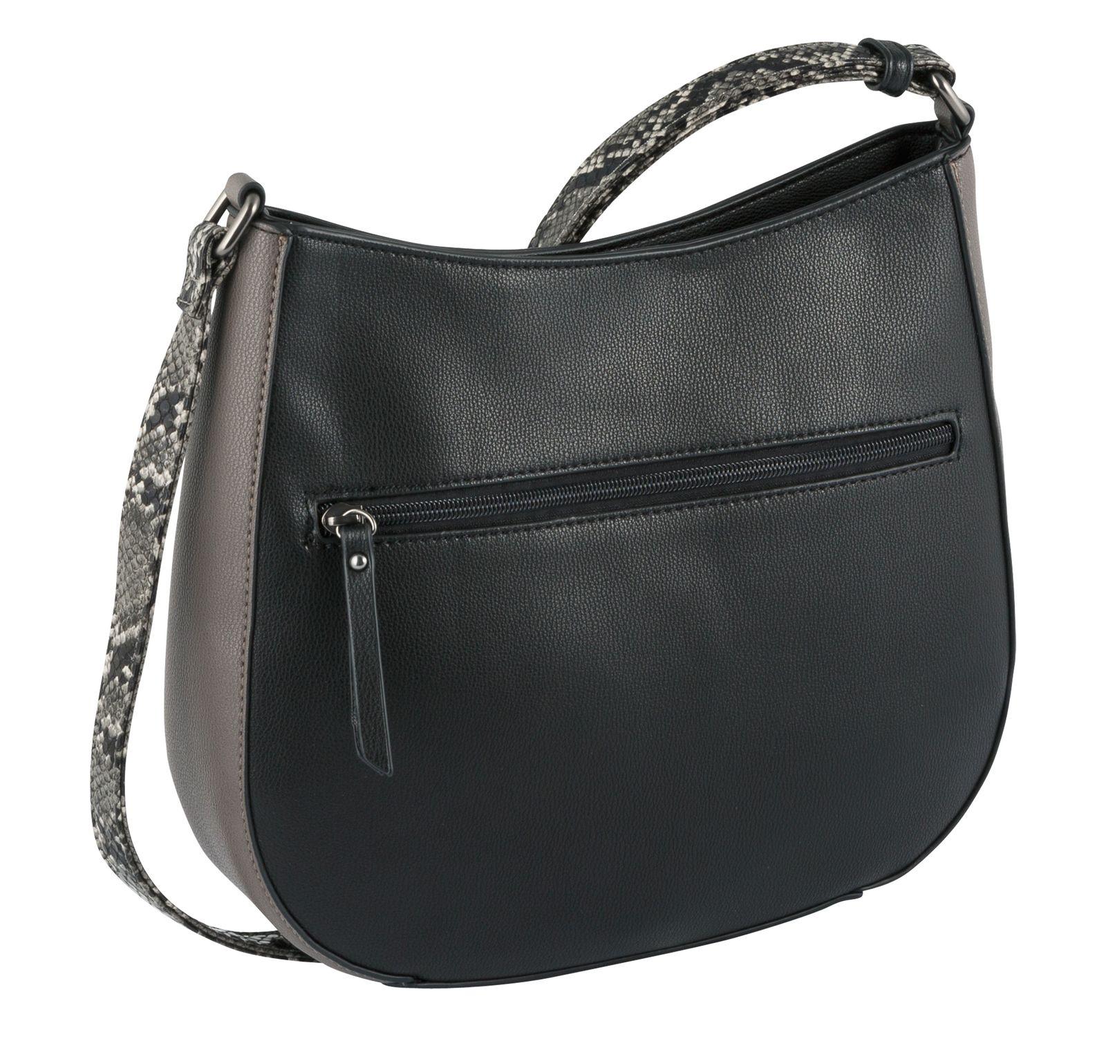 Gabor Janna Hobo Bag Mixed Black