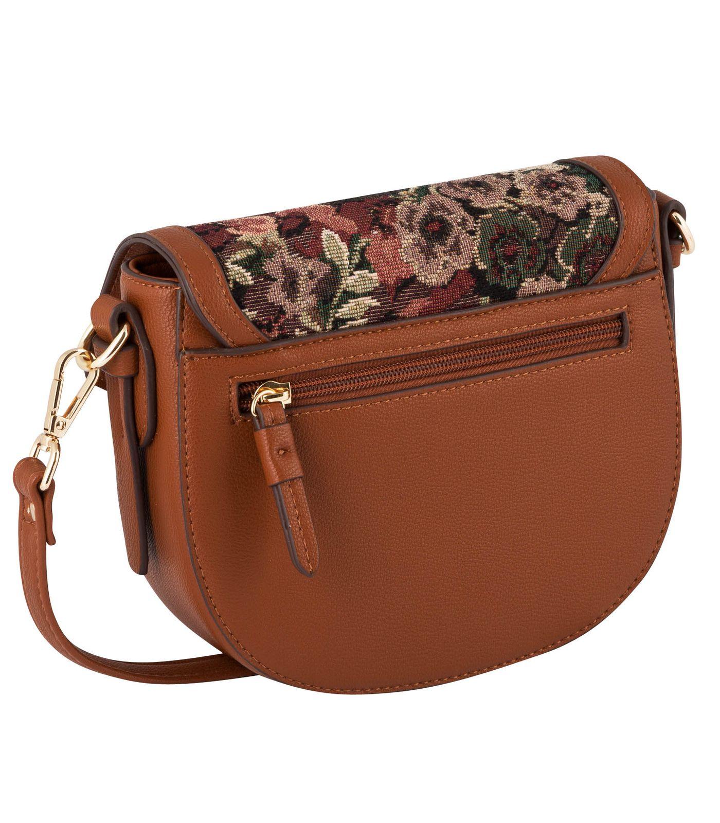 Gabor Leandra Flap Bag S Mixed Cognac
