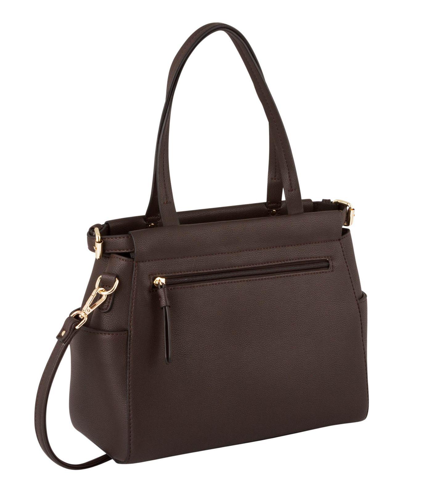 Gabor Lea Zip Shopper M Dark Brown