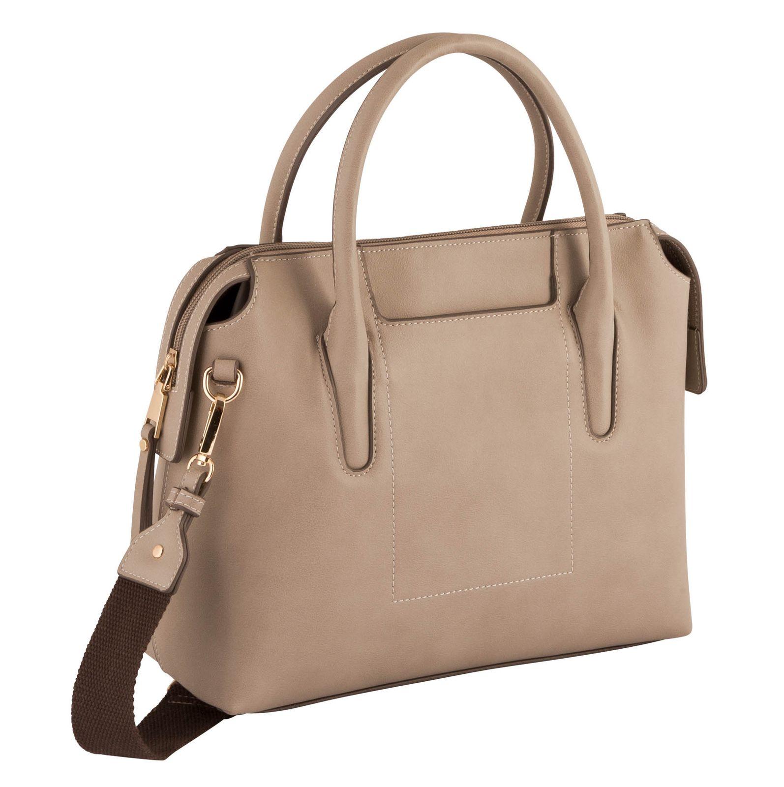 Gabor Lucia Zip Shopper M Mid Grey