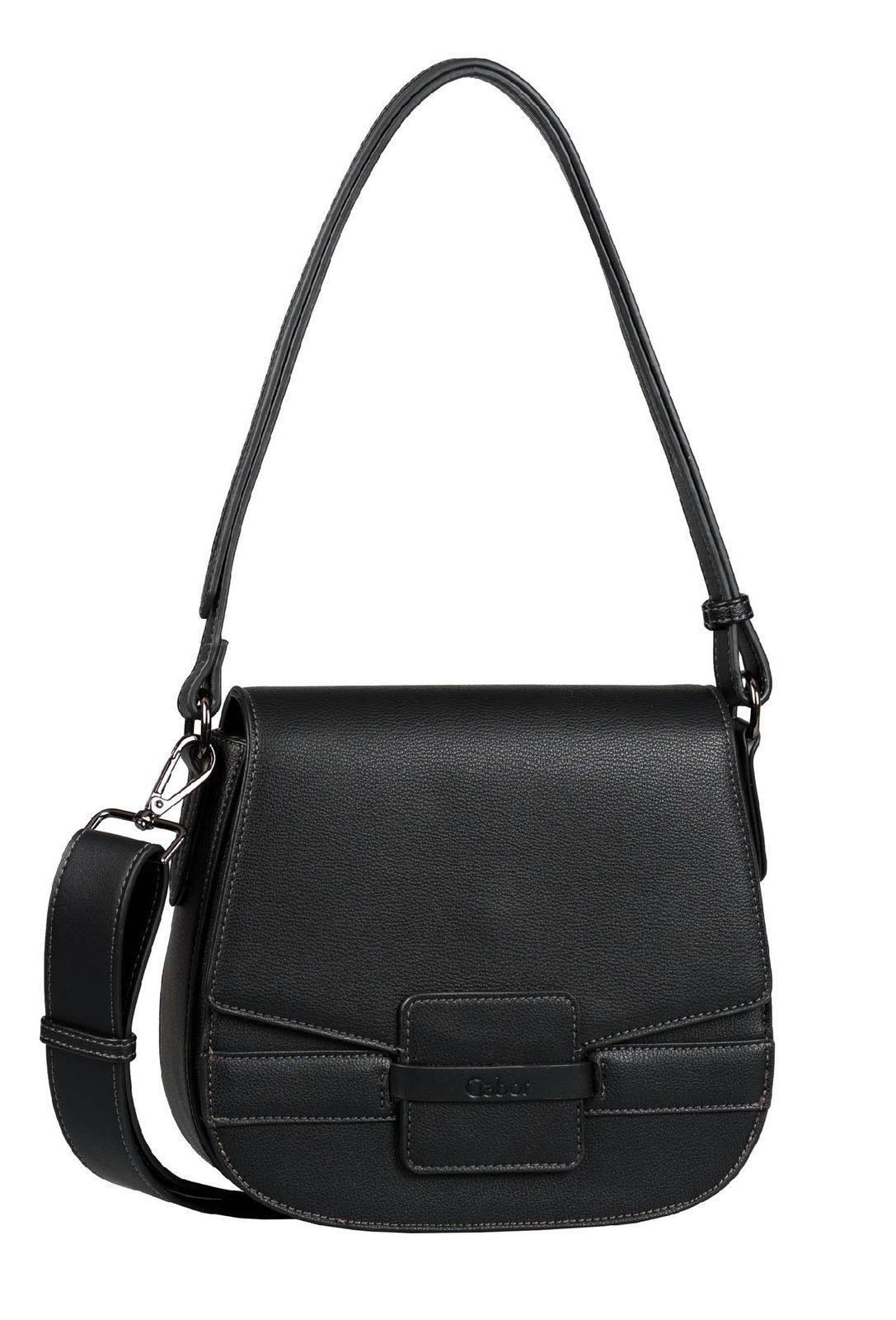 Gabor Adora Flap Bag M Black