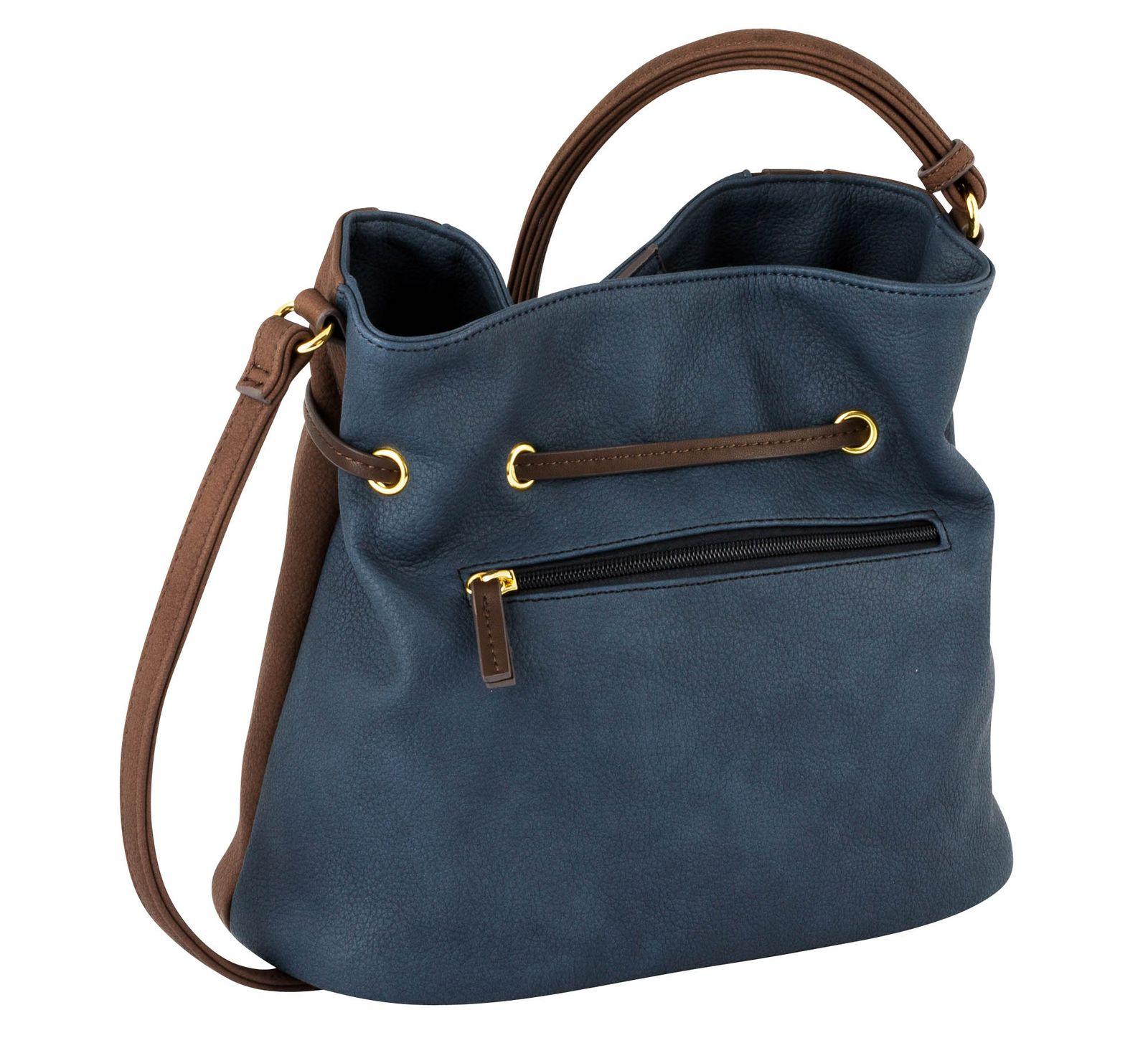 Gabor Granada Pouch Bucket Bag Mixed Brown