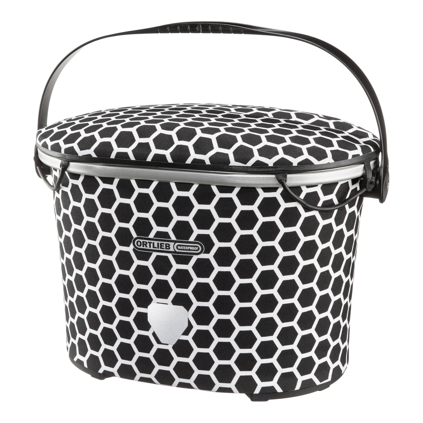 ORTLIEB Design Up-Town Bike Handlebar Bag 17,5L Honeycomb / Black-White