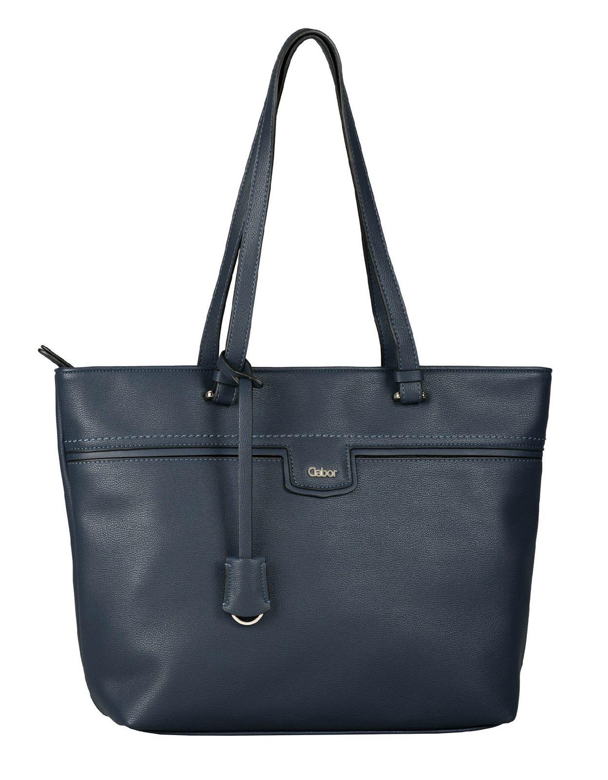 Gabor Gabriella Zip Shopper L Dark Blue