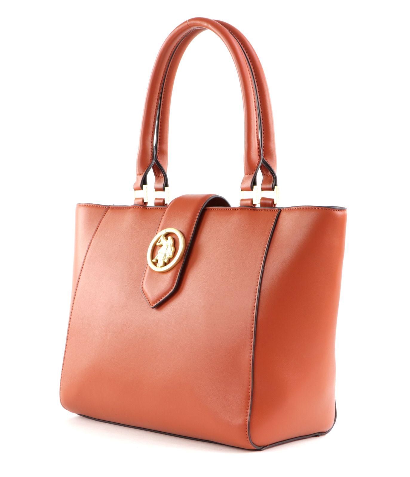 U.S. POLO ASSN. Vancouver Shopping Bag Tan