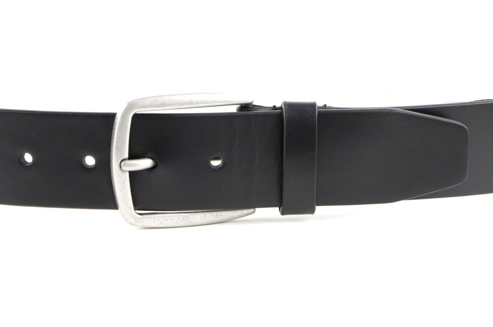 TOMMY HILFIGER Modern Leather Belt 4.0 W105 Black