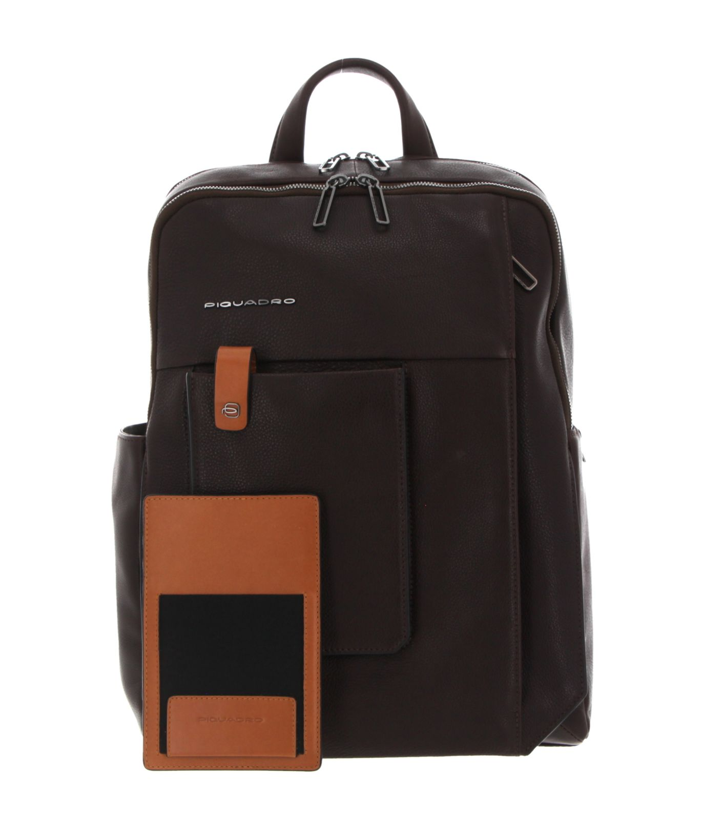 PIQUADRO Tallin Computer Backpack With Smartphone Case Marrone