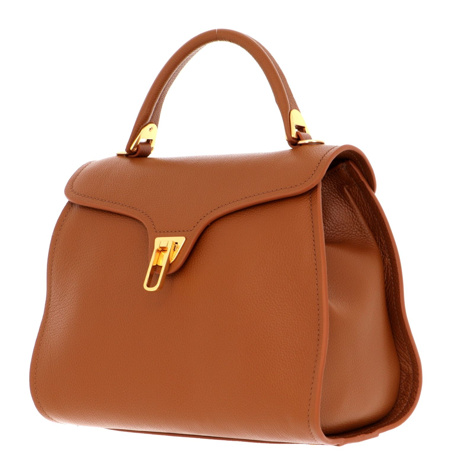 COCCINELLE Marvin Small Handbag Caramel
