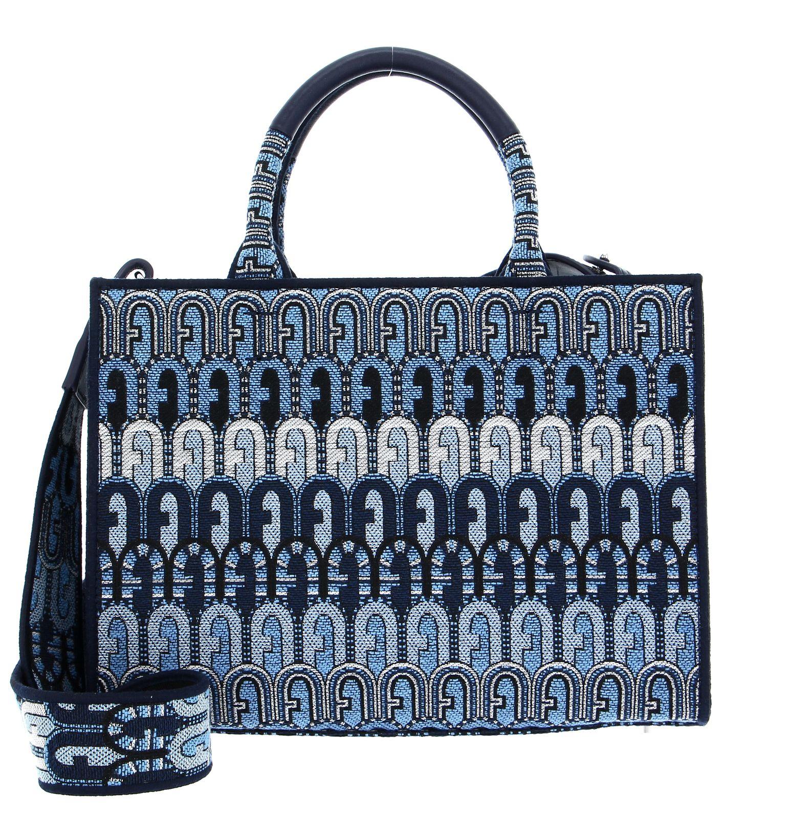 FURLA Opportunity Tote Bag S Toni Blu Denim