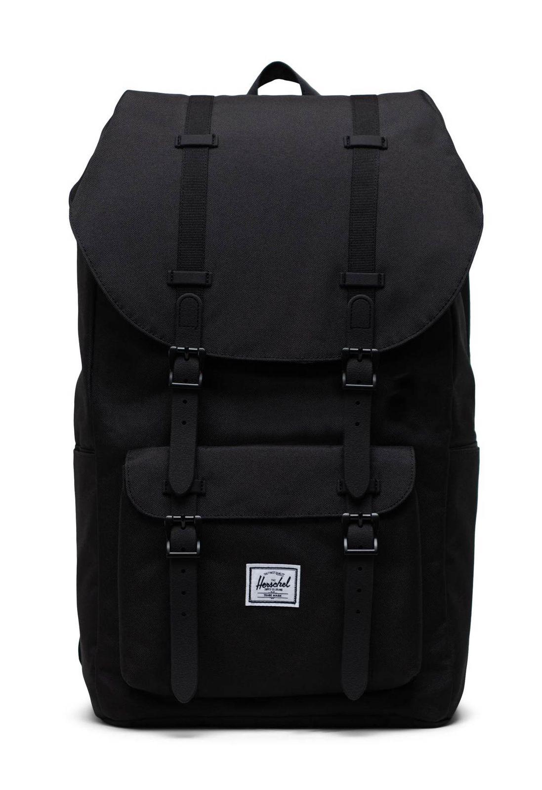 Herschel Eco Little America Backpack Black / Black