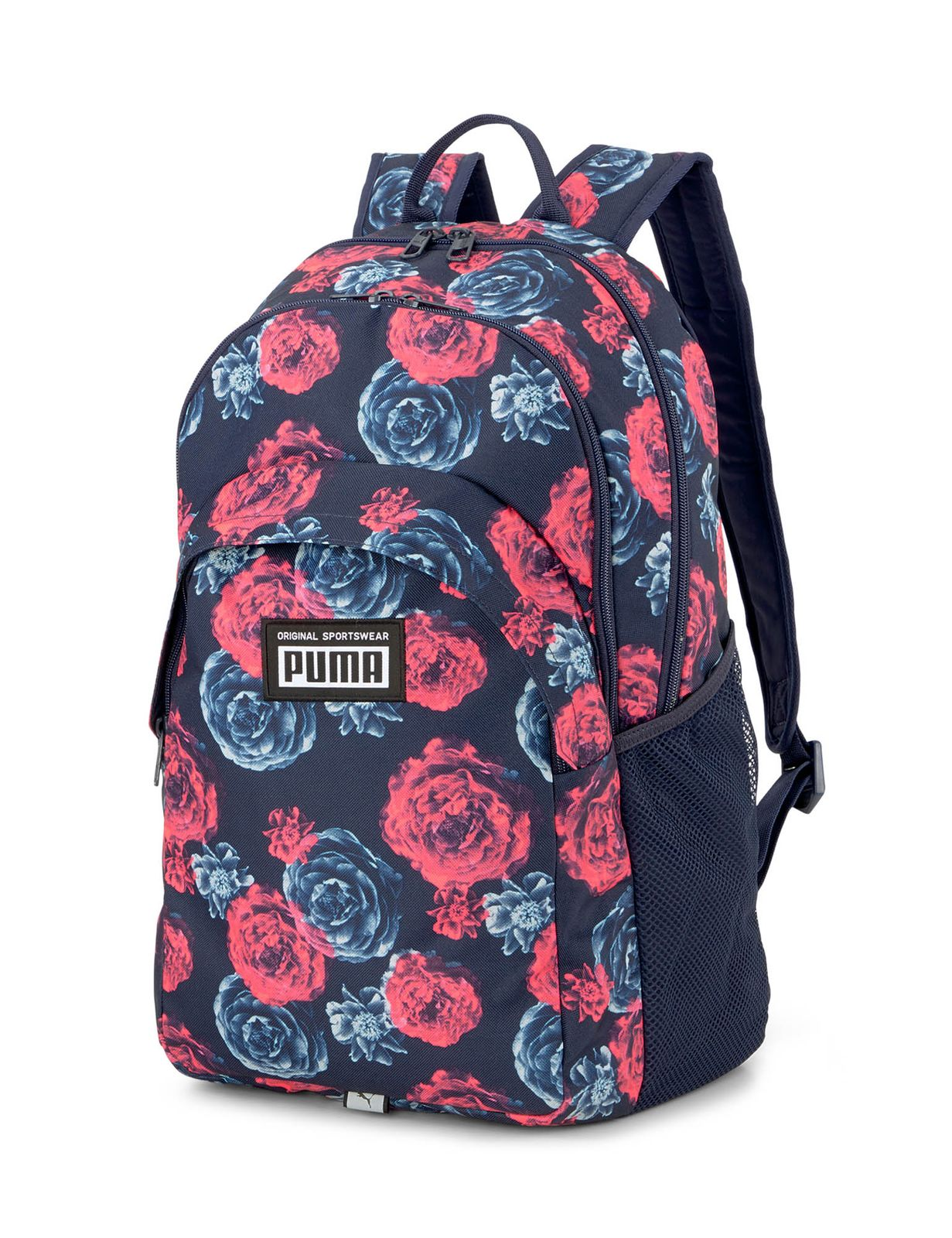 PUMA Academy Backpack China Blue - Floral AOP