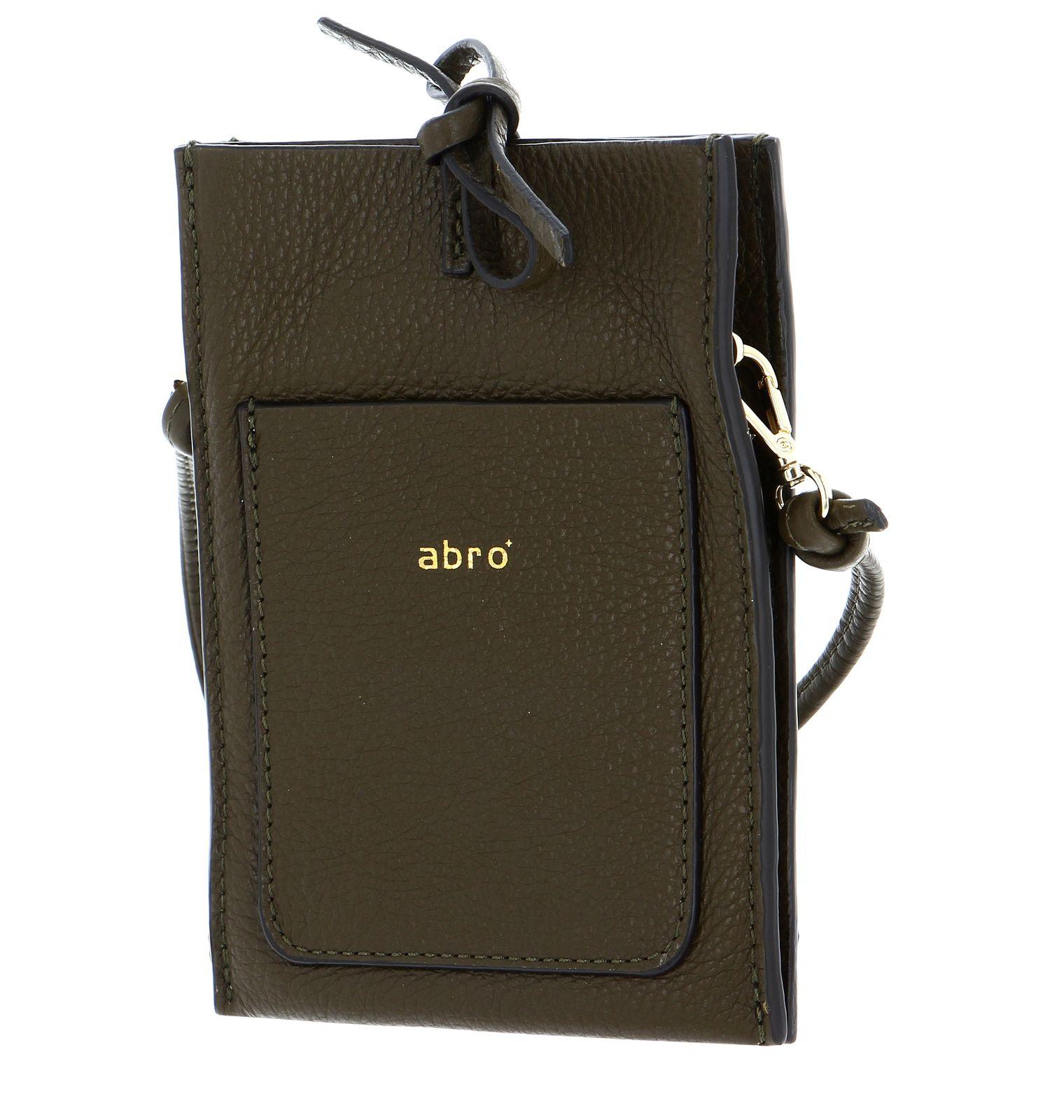 abro Leather Dalia Phone Bag Raquel Military